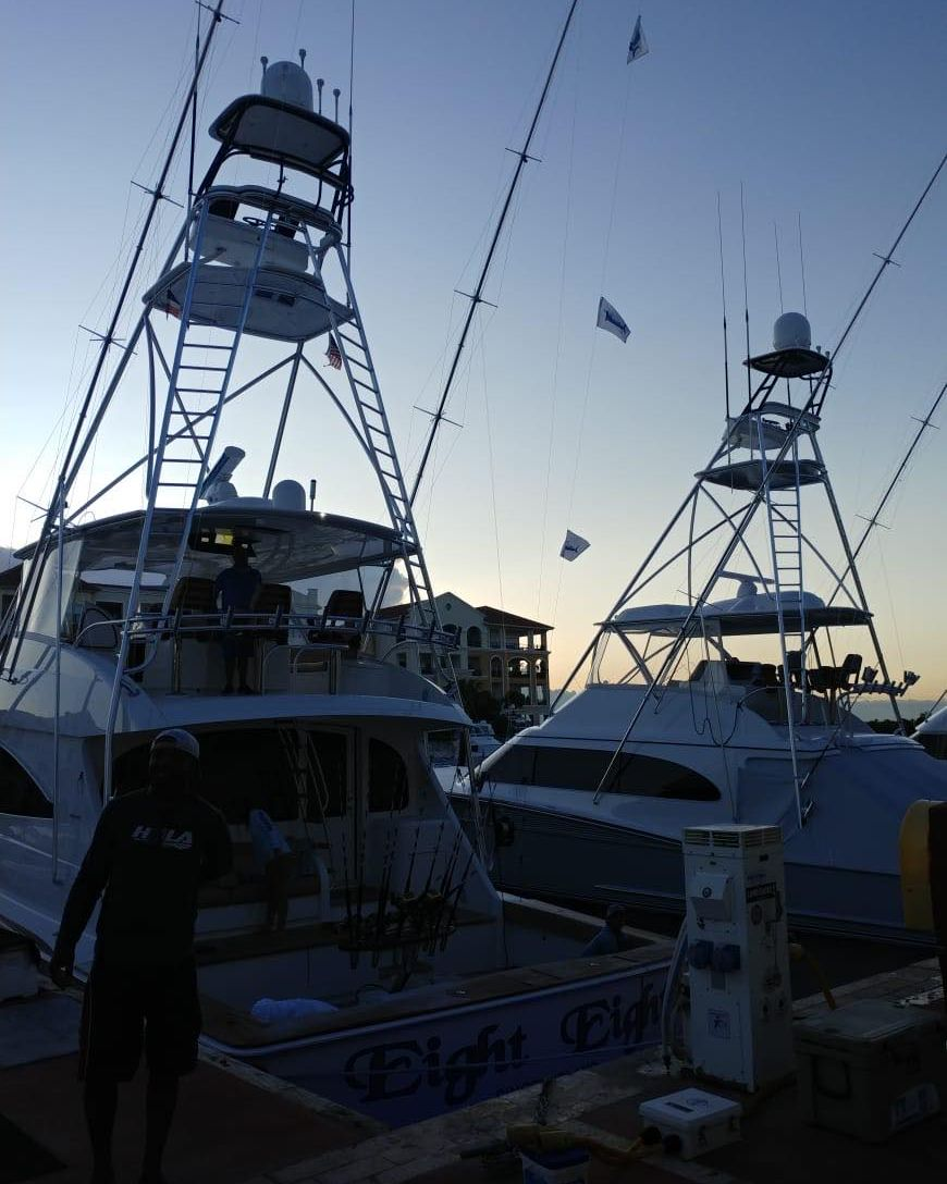 Cap Cana, DR - Eight Eights went 3-4 on Blue Marlin.