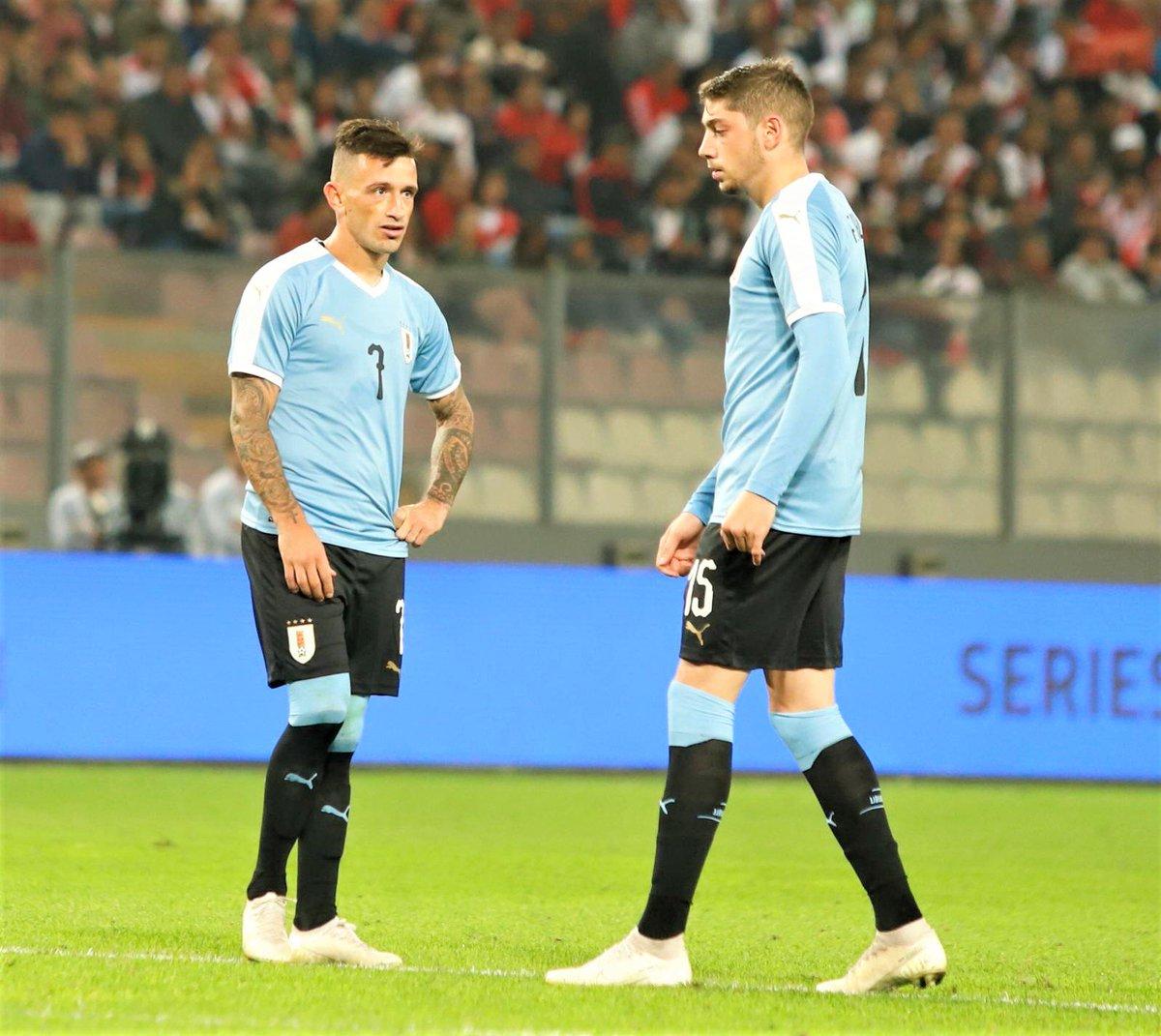 Perú 1-1 Uruguay, Valverde y Lozano