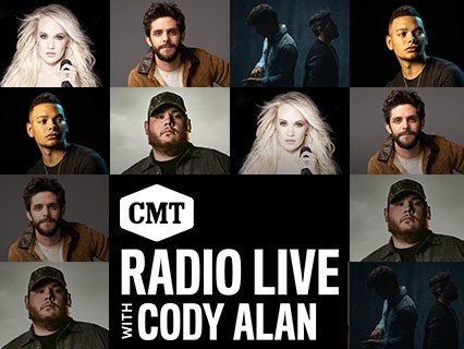 Its @CMTs Artists of the Year EVE and these powerhouses are dropping in tonight to join @CodyAlan on @CMTradio! Find your station and tune in at cmtcody.com