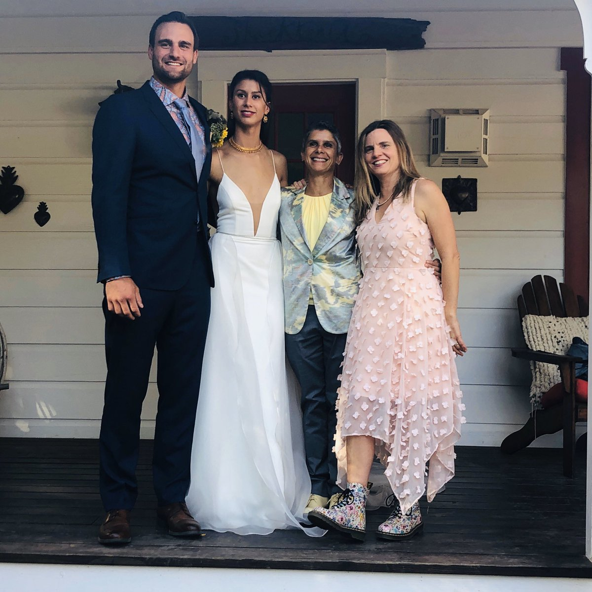 To all those following along as I had a minor meltdown over the pre-wedding @PGE4Me #poweroutage it all worked out in the end and the wedding was beautiful. Thanks for your supportive tweets that helped me get through those stressful days! Do you like my shoes? 🤣