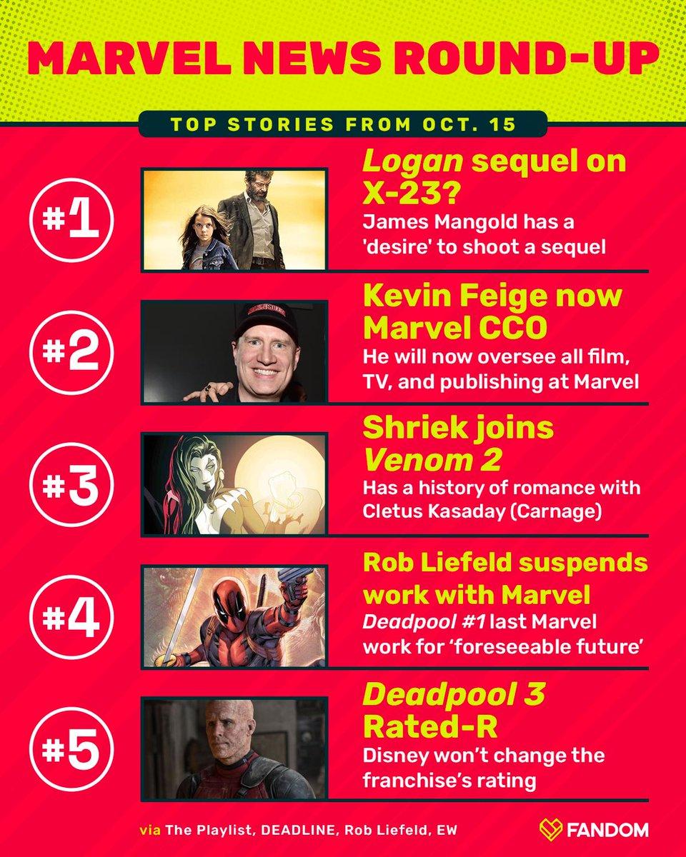 Marvel had a busy day  <br>http://pic.twitter.com/NIwk2QJqMa