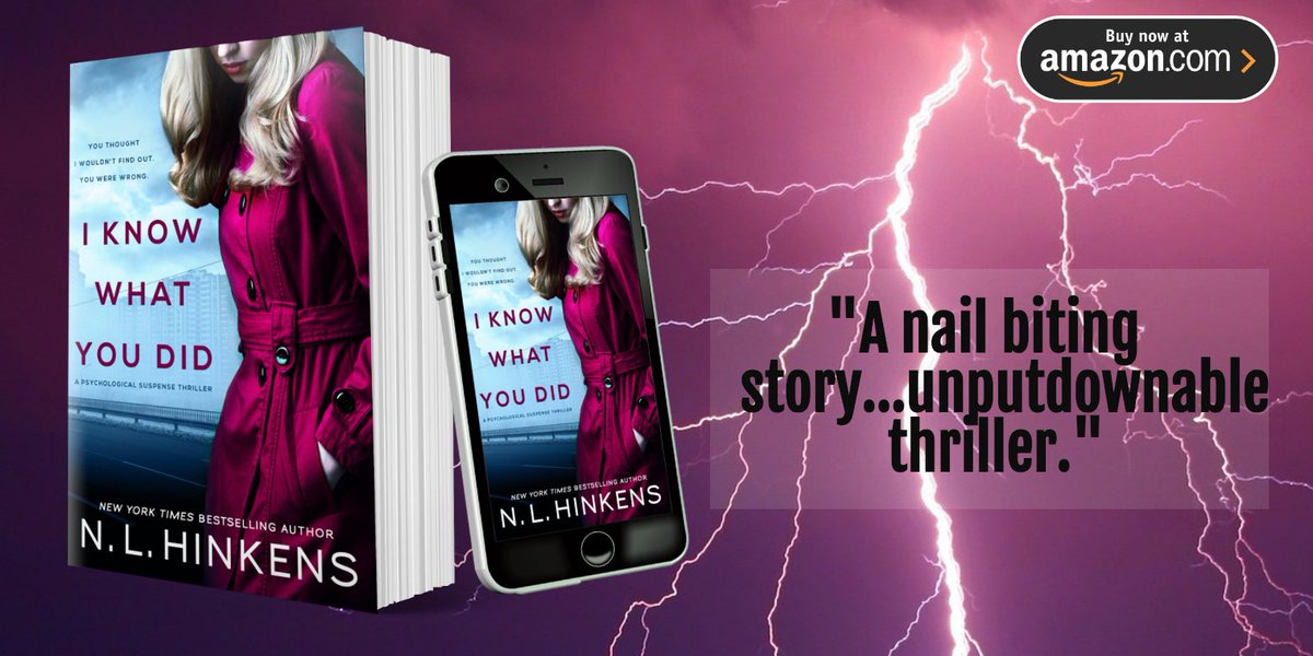 An emotional roller coaster of a domestic thriller that will leave you breathless!  https:// buff.ly/2MyAdNw     #PsychologicalThriller #mustread<br>http://pic.twitter.com/KILj1niH1m