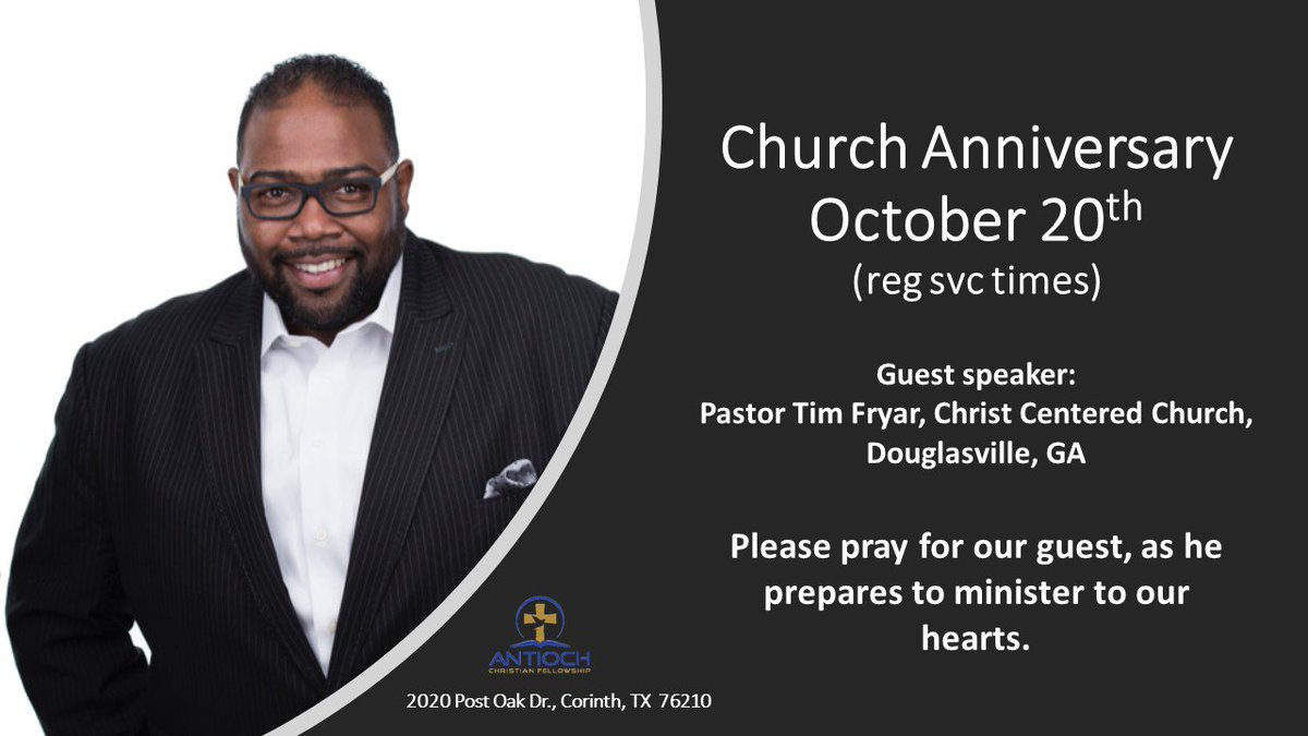 Our 17th anniversary will be here soon!!! Please PRAY this week for our guest speaker. #NewAnointing #HolySpirit #ExpressingChristsCompassion<br>http://pic.twitter.com/ssL2QLVfHR