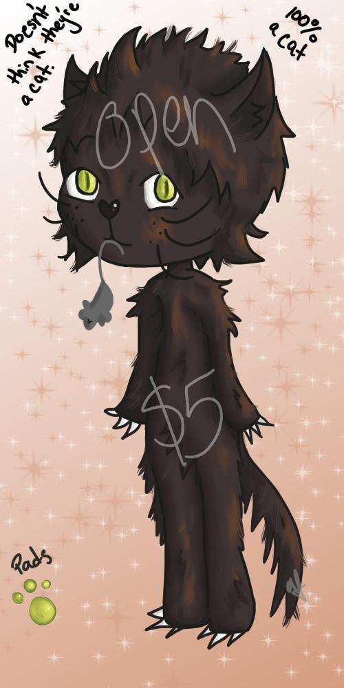 Next adopt is up! Rules for last adopt applies. Feel free to share far and wide! #adopts #adoptable #art #artist #digital #digitalart #help #cat #blackcat #halloween #orange
