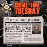 Image for the Tweet beginning: #LASD #CrimeTimeTuesday 47 y-o Randolph