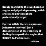 Image for the Tweet beginning: True artistry is not beholden