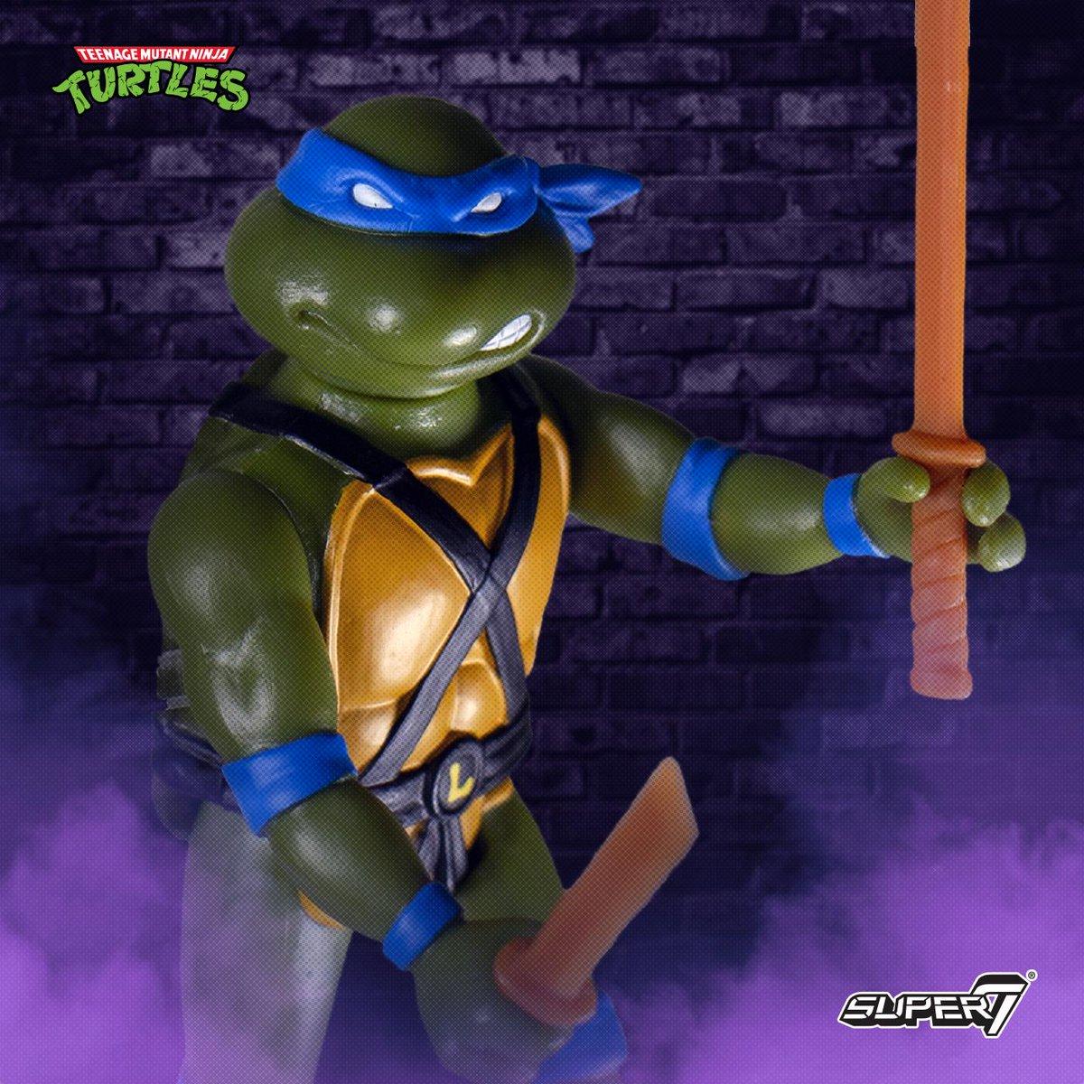 Super 7 Teenage Mutant Ninja Turtles Teenage Mutant Ninja Turtles réaction Bebop et Rocksteady Wave 1 Lot