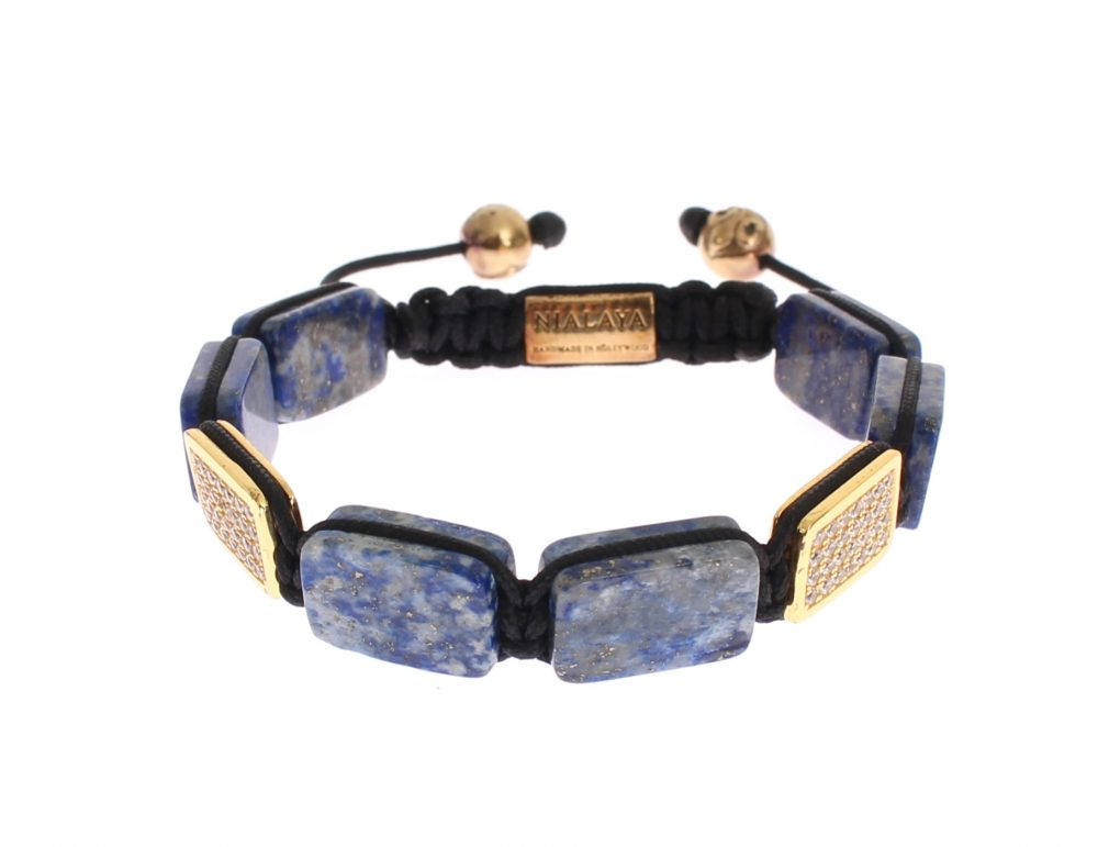 CZ Lapis 18K Gold 925 Bracelet by Collection de prestige  Shop the collection at https://www.collectiondeprestige.com/product/nialaya/cz-lapis-18k-gold-925-bracelet/… . . .  #collectiondeprestige #luxury #fashionblogger #outfit #competition #modeling