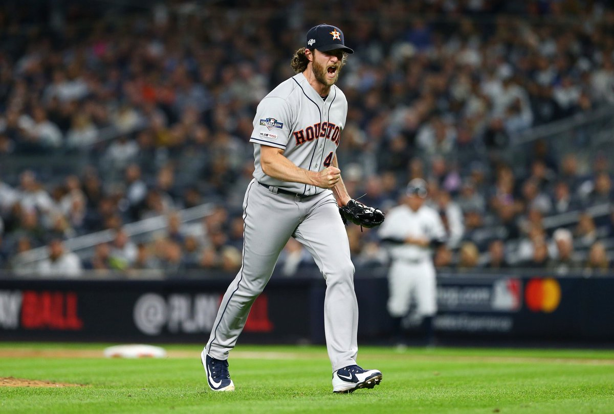 The Houston Astros take a 2-1 series lead after a 4-1 win in the Bronx. #TakeItBack  #NextManUp <br>http://pic.twitter.com/bTSlq0tHNm