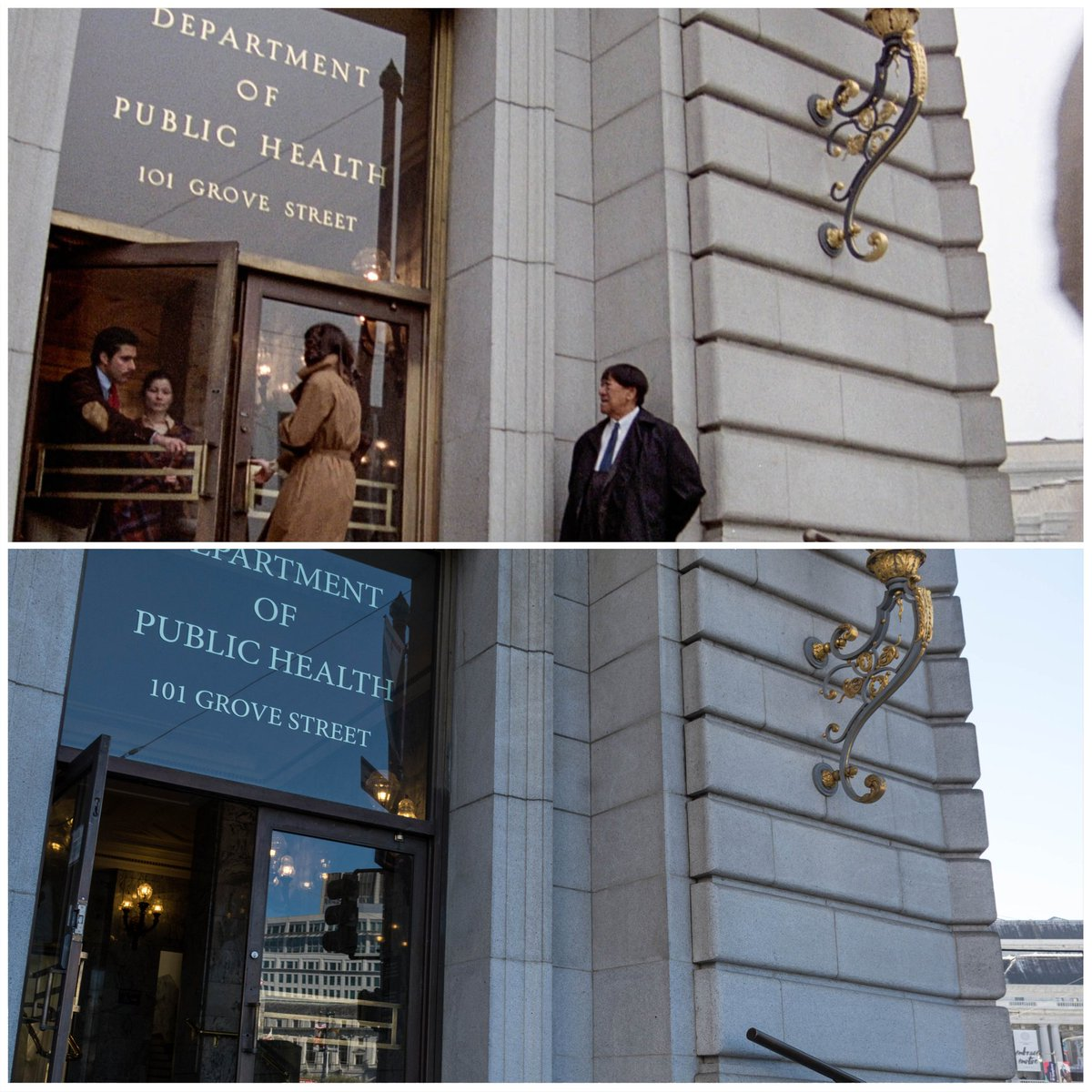 🎥Invasion of the Body Snatchers 📷September 2018  🌎Dept of Public Health, San Francisco, California  • #InvasionOfTheBodySnatchers #SanFrancisco #California #BrookeAdams #Movies #FilmingLocations #MovieLocations. #Photography #TravelPhotography #HorrorMovies #VisitCalifornia