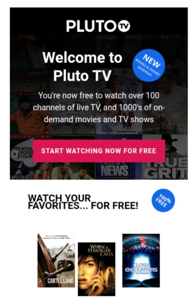 You can watch for free! @PlutoTV #bookmark #love #tweegram #TV #shows #movies #amazing #see #look #Instagram #instalike #pictures #videos #instadaily #instagood #instacool #instago #FolloMe #style #webstagram