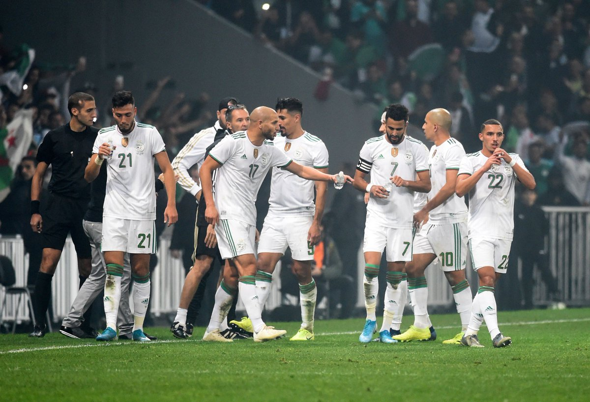 15' Bounedjah 20' Mahrez 65' Mahrez  Algeria took care of Colombia 3-0 on Tuesday   <br>http://pic.twitter.com/8GpBPus1Zs