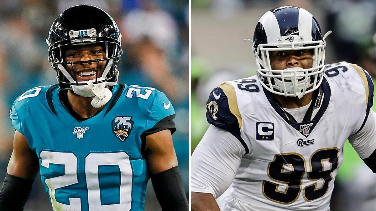 Jalen Ramsey x Aaron Donald  The Rams are looking dangerous on defense 😤