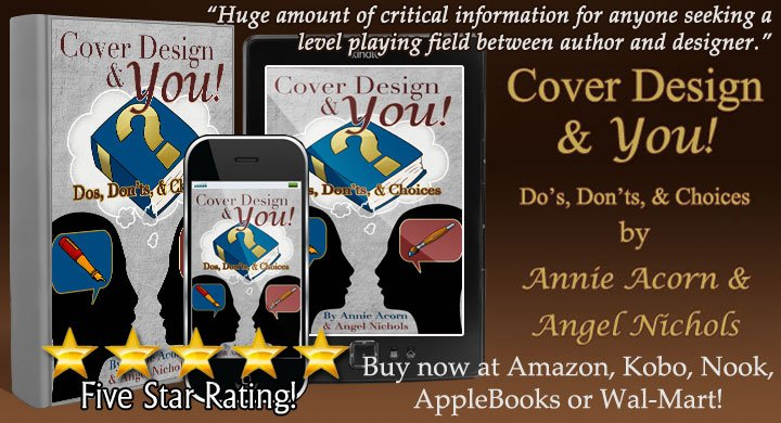 Self-publishing? Your cover design questions answered! Cover Design and YOU by award-winning @Angel_Nichols and me. http://amzn.to/198ewxS #Indie #WritingCommunity #Kindle #Kobo #Nook #Walmart #AppleBooks #BookBoost #SNRTG #iartg #authorRT :-)