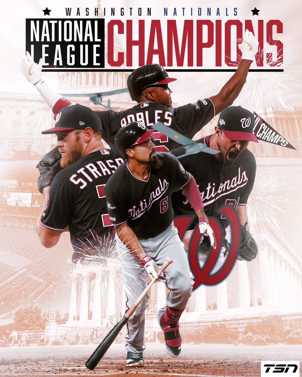 The Washington Nationals complete the sweep over the St. Louis Cardinals to advance to the World Series for the first time in franchise history!