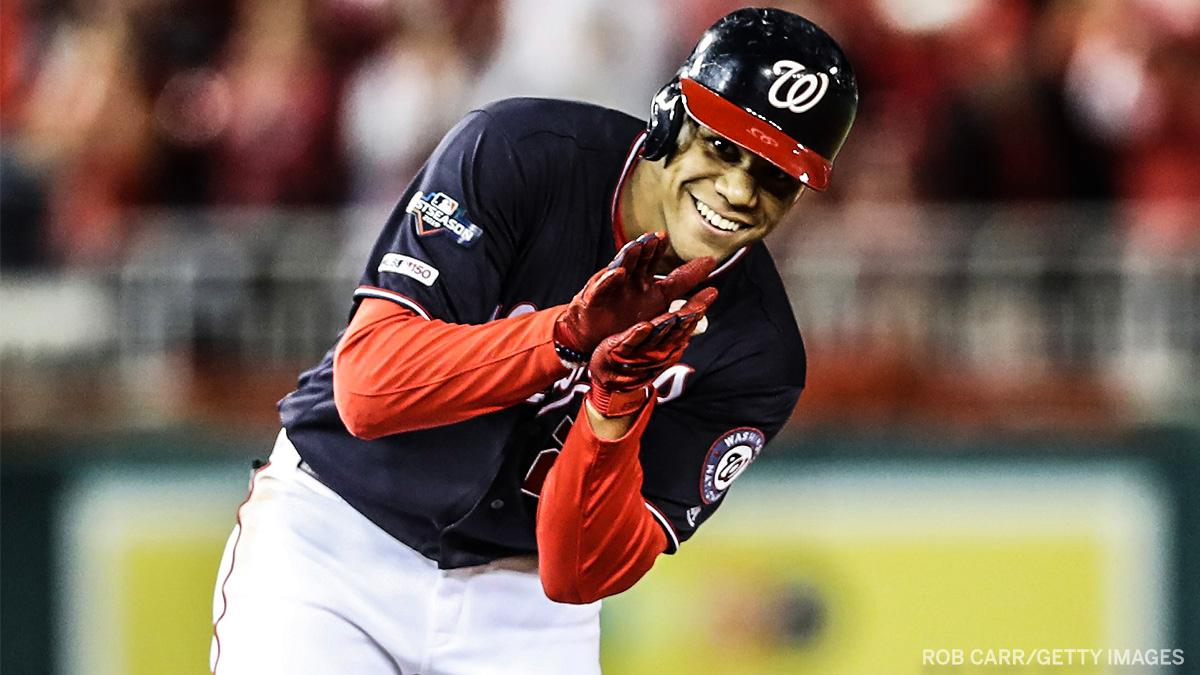 The Nationals plate 7 runs in the first inning 🤭 #NLCS