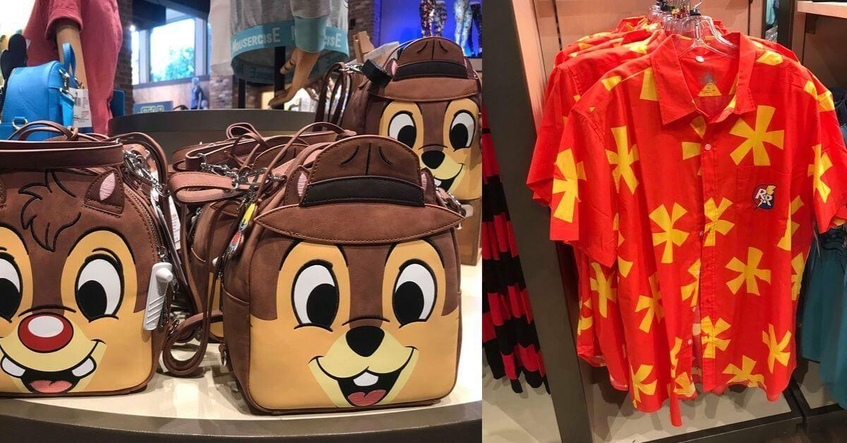 New Chip 'n Dale Rescue Rangers merchandise hits Disney parks #DisneyParks  #RescueRangers #Disneyland  #WaltDisneyWorld     http:// bit.ly/2pklZbt    <br>http://pic.twitter.com/JoEWseU4q9