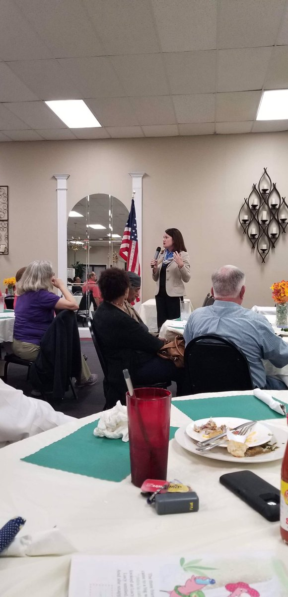 My 💙 is full - went home to speak to @AlamanceDems Women! I stressed what I believe - we have to keep pushing the boulder up the 🏔 together because in 2020, it goes over. And @rickyhurtadonc will be one of the 6 new Ds in the @nchousedems that make it so! #canyouspotmymom