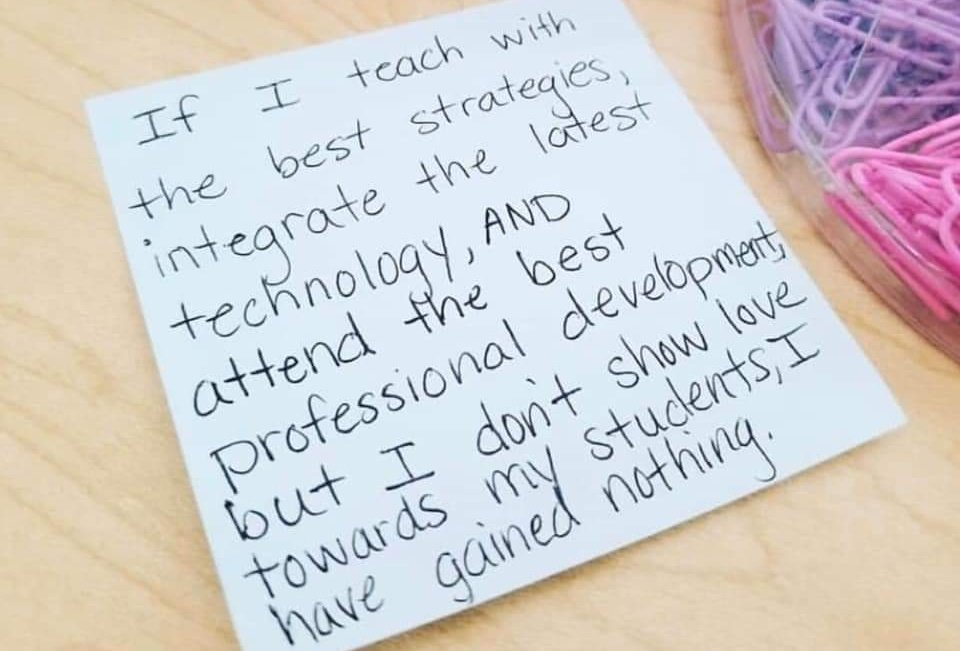 #HackingSchoolDiscipline #teachergoals