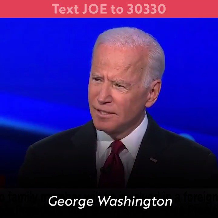 Three—thats how many times President Trump asked foreign governments to interfere in our political process. Why? Because hes scared. He knows Joe Biden will beat him like a drum. #DemDebate