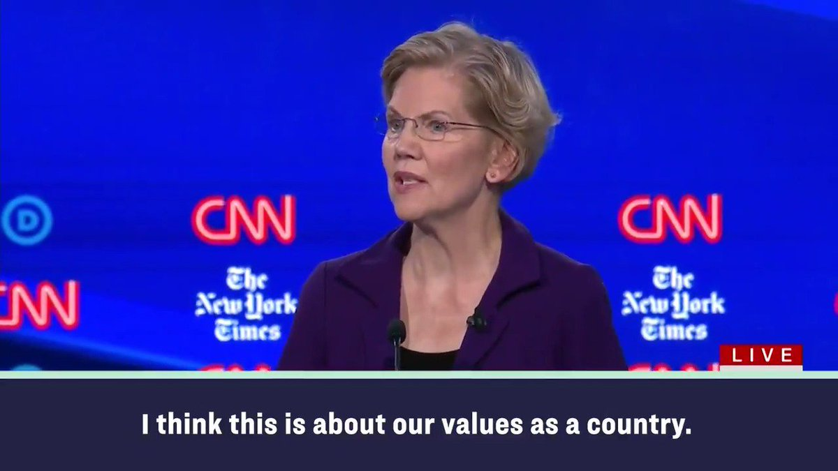 My #TwoCentWealthTax on the richest top 0.1% of households will pay for: ✅ #UniversalChildCare ✅ Universal free public college ✅ $50 billion investment in HBCUs ✅ Cancelling student loan debt for 95% of the people who have it ✅ And more! #DemDebate