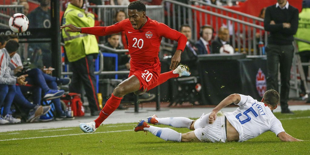 Canada secures 1st win over United States since 1985.  https:// thesco.re/32pOMdm    <br>http://pic.twitter.com/zmKV0vJAho