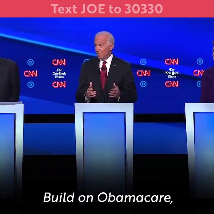 Medicare for All will cost at least $30 trillion over 10 years — and it will be paid for in part by raising taxes on middle class families. Joe Biden has a better plan — he will protect and build on Obamacare to ensure everyone has access to quality, affordable health care.