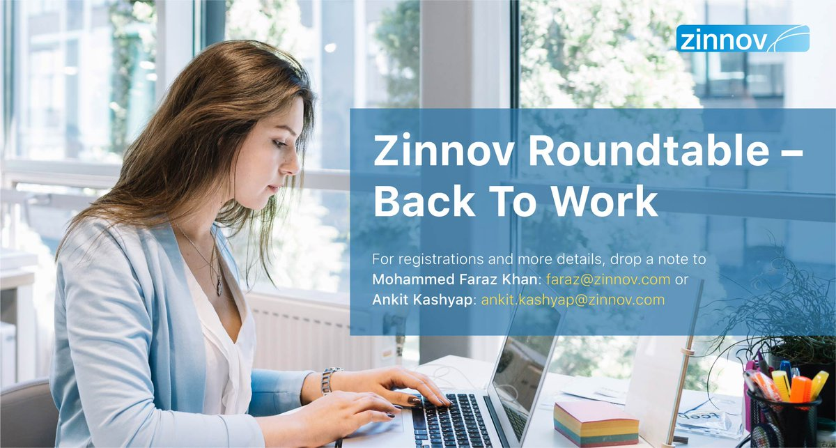 Calling all the #WomenInTech with 2-10 yrs of work experience in #TechRoles, and who have taken a continuous break of 1-5 years, to attend an exclusive #ZinnovRoundtable on enabling #Women on a #CareerBreak to get back to work. To be a part, write to faraz@zinnov.com #BackToWork