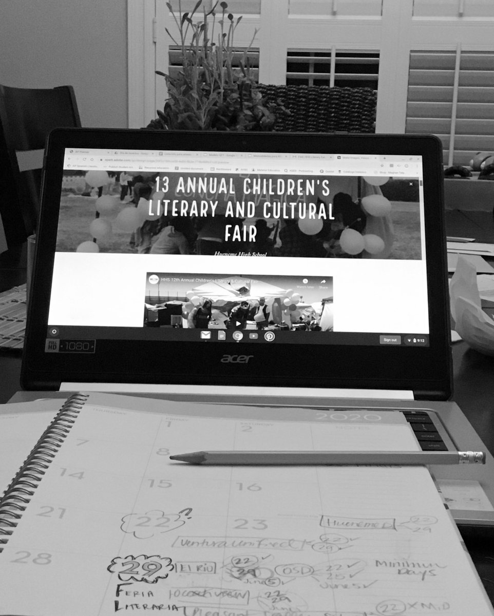 It is never too early to start planning the #LiteraryFair.  🤞🏼 planning something new because we need to think outside the box.@hhs_viking @HHSmaestra  @revelesm @vcalderon1213 https://t.co/ZIpMu7iTJt