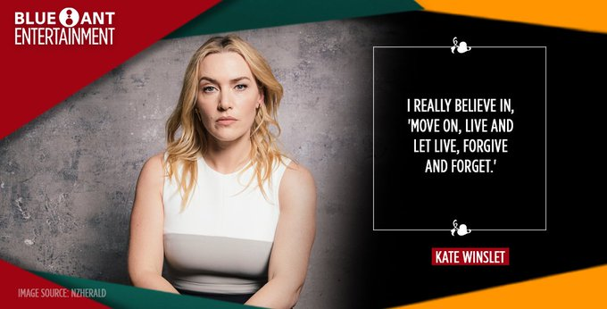 Some wise words from today\s birthday celebrant  . Happy birthday to this multi-awarded actress - Kate Winslet!