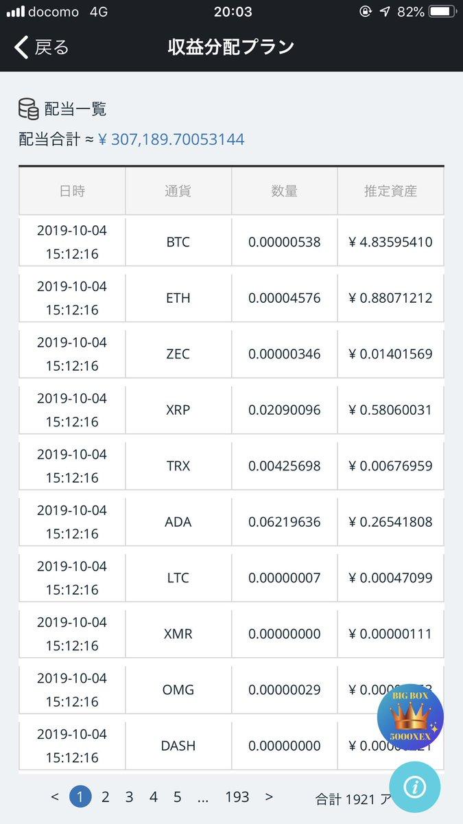 【仮想通貨XEX投資】順調に資産が減っていきます!過去の神案件がまさかのチンカス案件に成り下がりました!#crossexchange 未来やいかに!神っていたときの詳細は以下。