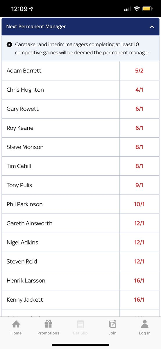 Next millwall manager betting odds best sports betting twitter accounts