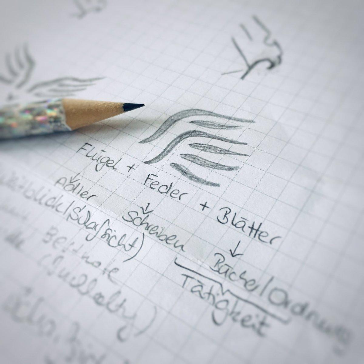 #Vorarbeit zum weiteren #Logo Die #Ideen basieren auf unterschiedlichen #Methoden, eine davon z.B. ist, dass ich projektbezogene #Schlüsselbegriffe recherchiere und aufschreibe. #Logogestaltung #logodesign #logoentwicklung #corporatedesign #methode #ideenfindung #inspiration