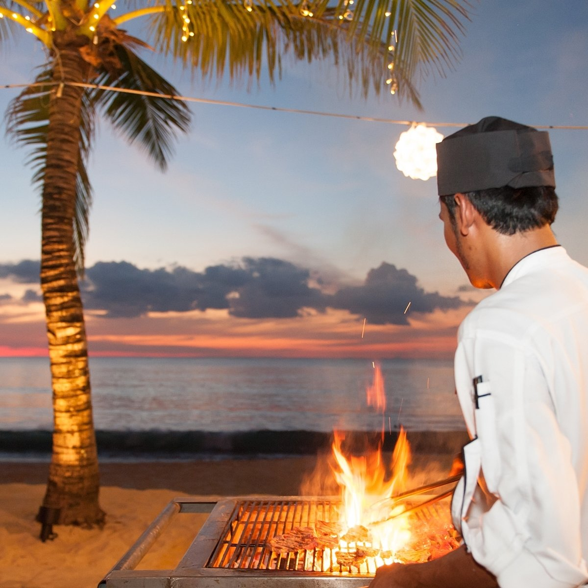 Enjoy our charcoal grill beach BBQ on every Friday & Sunday at Casuarina Beach restaurant.  Come early for Happy hour drinks. ______________________________  The Sizzling Night THB 1,399++ per person (buffet only) Contact: 076-362999 ext 7309  View Menus:: https://t.co/ogLgoKzLPA https://t.co/z0tvBsLupV
