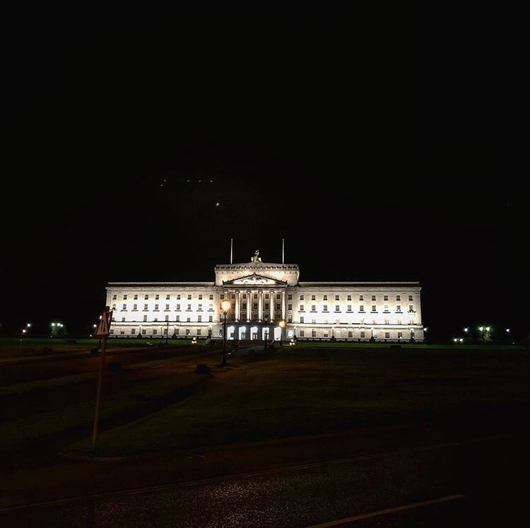 Intense but fun couple of days working in Northern Ireland with @ymorgang and edit supremo Ben. Stormont wins prize for 'prettiest devolved assembly'