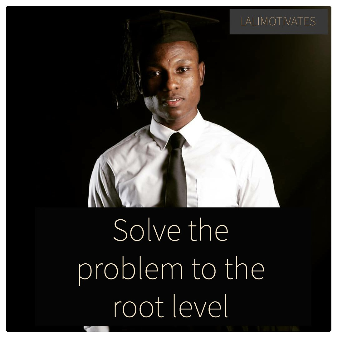 Hey guys  I believe today is going to be great.  Just a quick reminder, Solve all your problems to the root level. It might take time(most valuable resource of earth) but it's worth it. ____  credit: @sam_cobby  ______ #lalimotivates #friday #problems #solution #rt #fridaytip<br>http://pic.twitter.com/qQgq1ZmrII