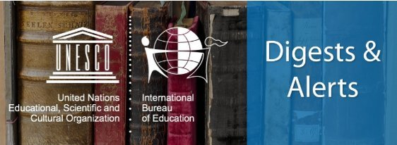 Access new #education publications from @UNESCO @UNESCOIICBA @OECDEduSkills and the @educommission in the latest @IBE_UNESCO alert! tinyurl.com/yywknn2x