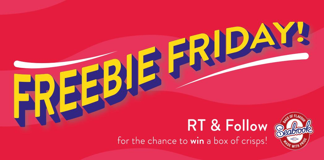 Freebie Friday! RT & Follow for a chance to win a box of crisps! (UK Only)