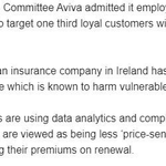 Image for the Tweet beginning: Staggering admission by @AVIVAIRELAND that