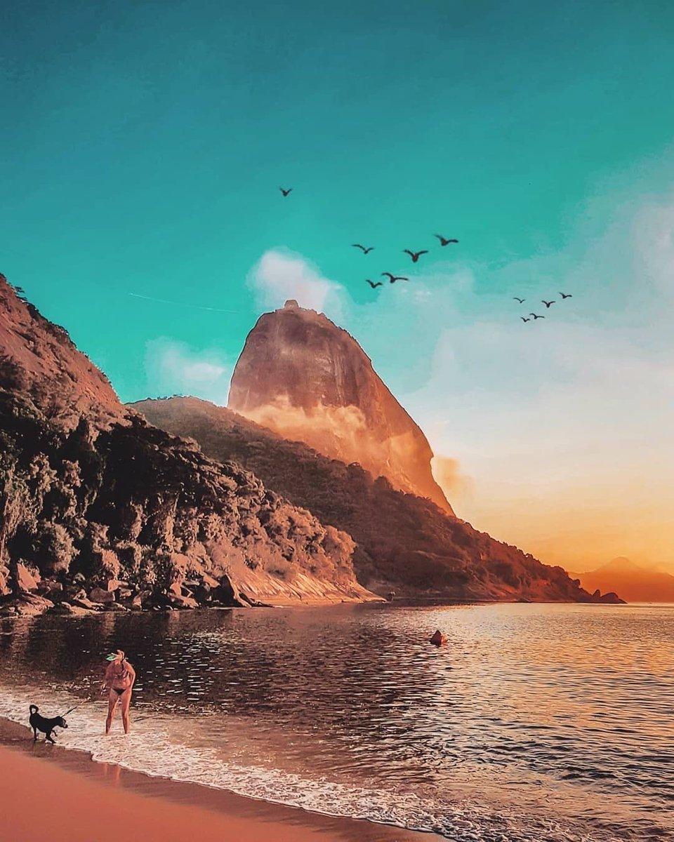 What is the most photogenic city in the world, and why is it Rio de Janeiro?   Happy Friday everyone!   : @ighelal _ #RioDeJaneiro #Rio #RJ #PraiaVermelha #RiobyCariocaspic.twitter.com/Lqdo3pNlFR