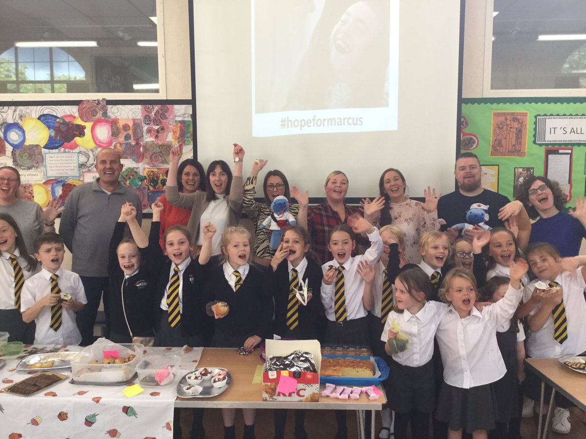 test Twitter Media - The amazing @RomileyPS community have come together for a mega bake sale to support #hopeformarcus Over £250 raised-that's a lot of cake!! Thank you everyone for all your efforts.👍😋🍰 https://t.co/C46RMY8MjO