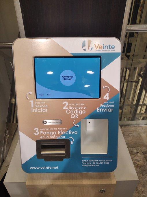 Cómo comprar bitcoin a través de la máquina de cajero automático de bitcoin