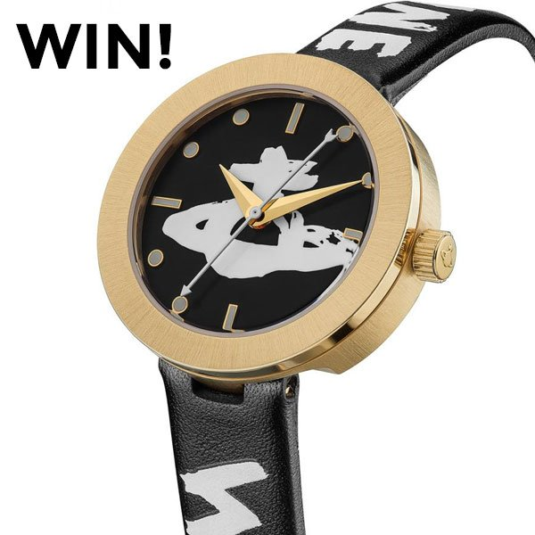 To #win this Vivienne Westwood watch just follow, like & RT! #Competition ends 11th October. For more entries head to our Facebook or bit.ly/Win-Vivienne-W… #FreebieFriday #FridayFeeling