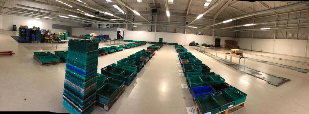 Who's ready for the big harvest food sort, starting Monday at 10.00am, down at Trinity Retail Park?! ..... We are! 🤗