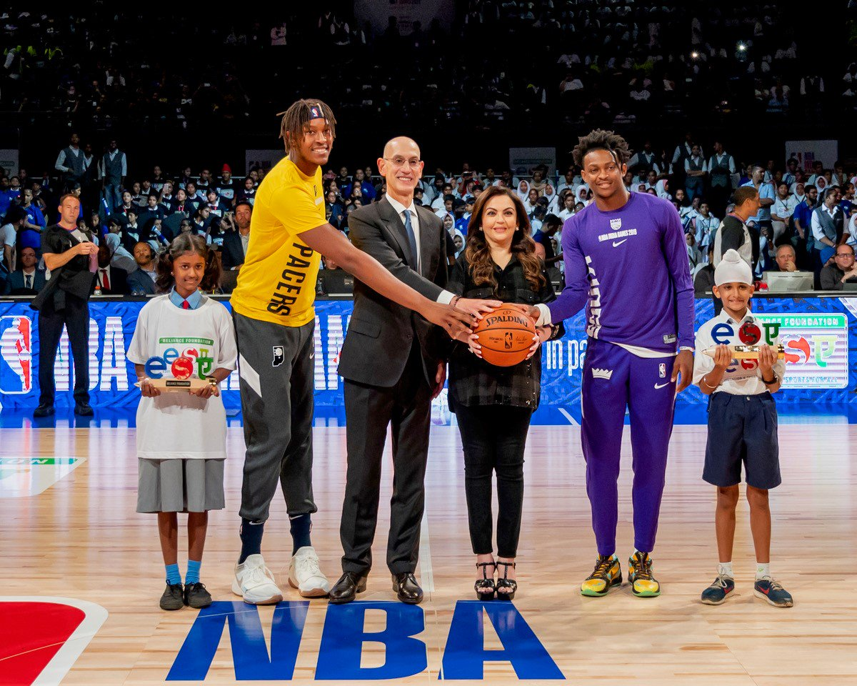 Reliance Foundation welcomes NBA to India; celebrates 6 years of India partnership