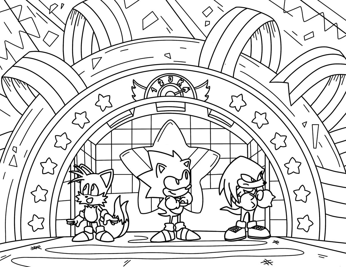 Sonic The Hedgehog On Twitter Happy Friday In Honor Of Inktober We Made Some Coloring Pages For You To Play Around With