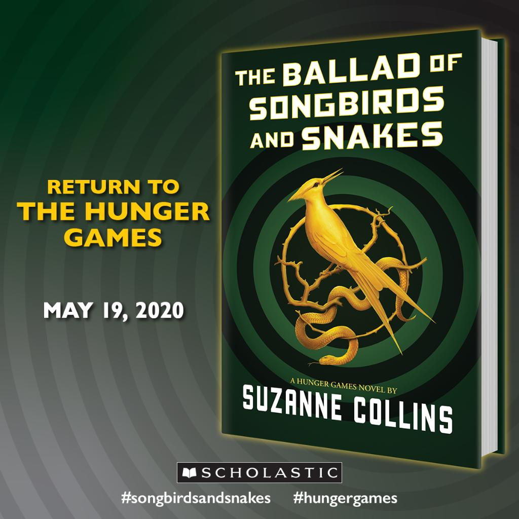 "Scholastic on Twitter: ""RETURN TO THE HUNGER GAMES! THE BALLAD OF ..."