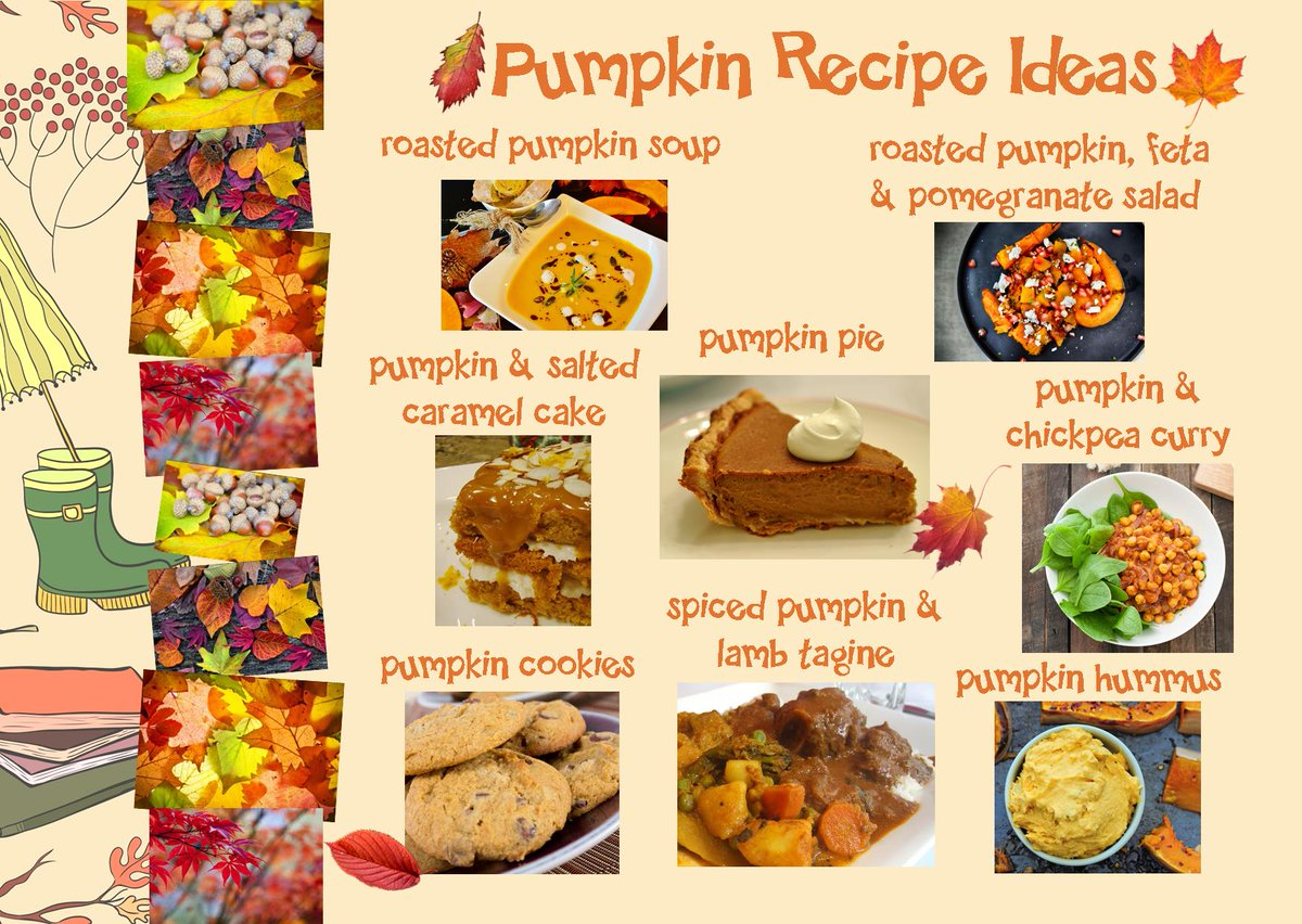 #foodtipsfriday Pumpkins need a bit of love, time and care to get the best flavour from them but they are so full of antioxidants, vitamins and minerals we think theyre worth the effort - heres a few recipe ideas you could try... #eatgoodfeelgood