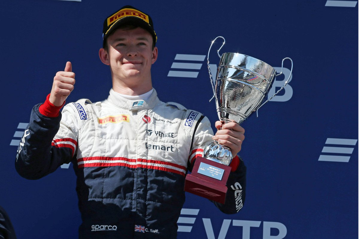 F2: THE ROAD TO F1  The #RoadToF1 podcast returns this week with @callum_ilott   The British star discusses his close relationship with Anthoine Hubert and Juan Manuel Correa, and muses on his debut F2 season  More info here 👉 https://tinyurl.com/RoadToF1-Ep7