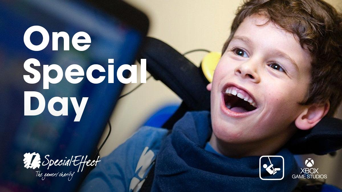 Join us in supporting @SpecialEffect to help people with disabilities enjoy the fun and inclusion of gaming. #OneSpecialDay For more information, visit the website onespecialday.org.uk or you can donate here: justgiving.com/campaign/onesp…